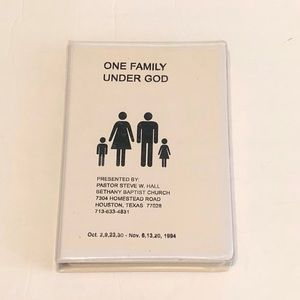 One Family Under God Series [Tapes]